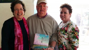 This couple bought my first book in 2005.  Now they consider it a family heirloom and will be passing it along to their daughter and her children!