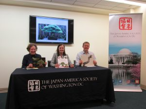 Bonsai Authors' Panel at Japan-America Society of Washington, DC